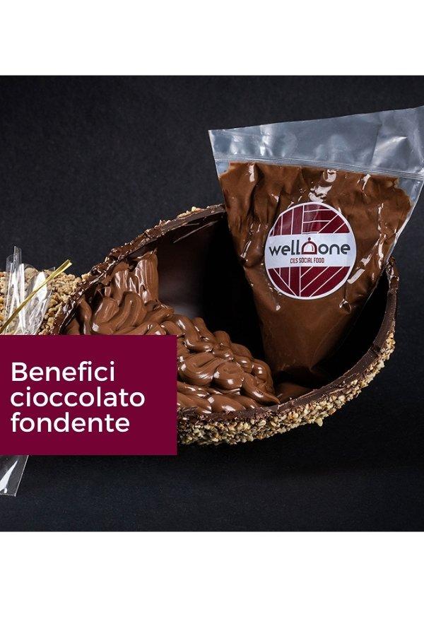 Cioccolato fondente e i suoi benefici